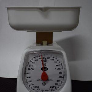 """משקל מטבח מכני 3/5 ק""""ג"""
