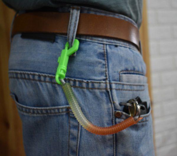 מחזיק מפתחות קפיץ ספירלה