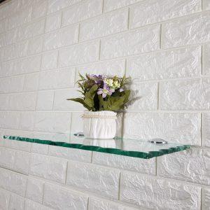 מחזיק למדף זכוכית