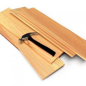 מדפי עץ