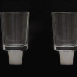 כוסיות זכוכית לנרות שבת