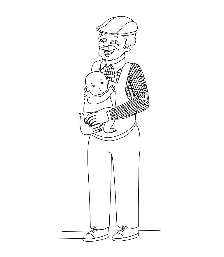 ציור של תינוק